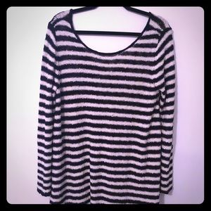 Free People Striped Sweater Medium